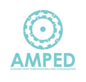 AMPED LOGO - Bue SquareHigh Res