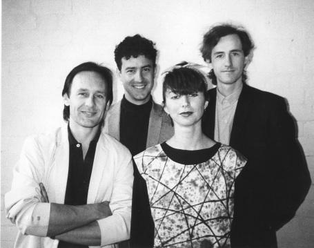 The very first GANGgajang photo 1984