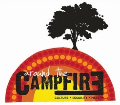 Around campfire logo