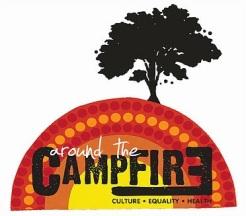 Around campfire logo