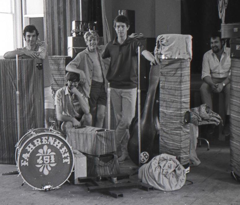 F451 at Goodwood church 1967